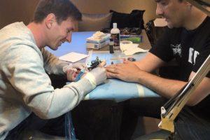 Messi concentrado en su trabajo. Foto:twitter.com/LeoMessifanclub