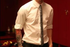 El nuevo tatuaje de Messi en el brazo derecho. Foto:twitter.com/LeoMessifanclub