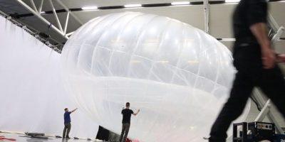 Así se arman los globos. Foto:Google