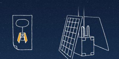Con el sol en su máximo esplendor, los paneles solares producen aproximadamente 100 W de energía. Foto:Google