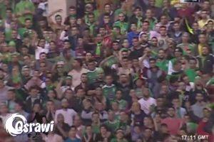 La afición del equipo contrario celebró la falla de Shatnawi Foto:Youtube: mohammad qsrawi