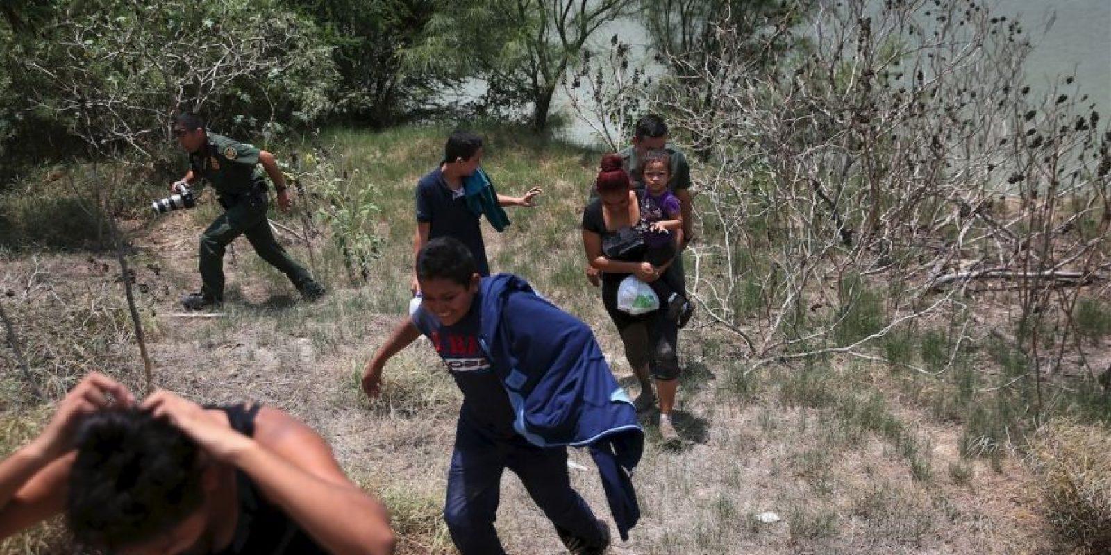 """""""Creemos que cerca de 50 por ciento de la gente que viene lo hace por la violencia. Su ilusión no es quedarse en México, sino irse a Estados Unidos"""", explicó Foto:Getty Images"""