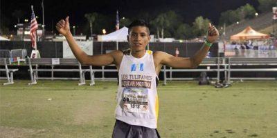 Un guatemalteco es el segundo corredor más rápido del mundo