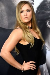 Pacquiao: Ronda Rousey, campeona de la UFC. Foto:Getty Images