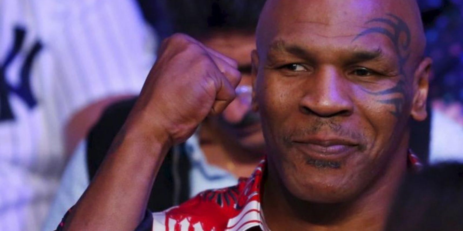 Pacquiao: Mike Tyson, exboxeador estadounidense Foto:Getty Images