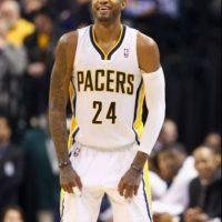 Mayweather: Paul George, basquetbolista de los Pacers de Indiana, también ha mostrado su gusto por Floyd Foto:Getty Images