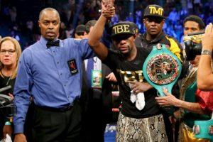 Este 2 de mayo se enfrentan los dos mejores boxeadores de la actualidad Foto:Getty Images
