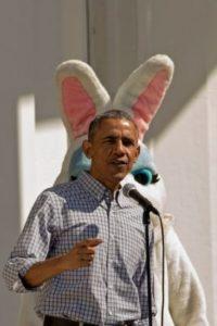 Barack Obama, presidente de los Estados Unidos, realizó un evento para celebrar la Pascua. Foto:Getty Images