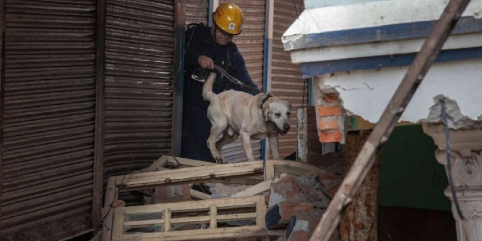 2. El equipo de Cataluña ha colaborado en 13 emergencias por terremotos. Foto:AFP