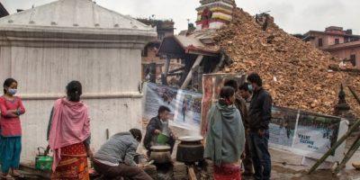 4. La ONU ha destacado que ocho millones de personas se han afectado por el terremoto. Foto:Getty Images