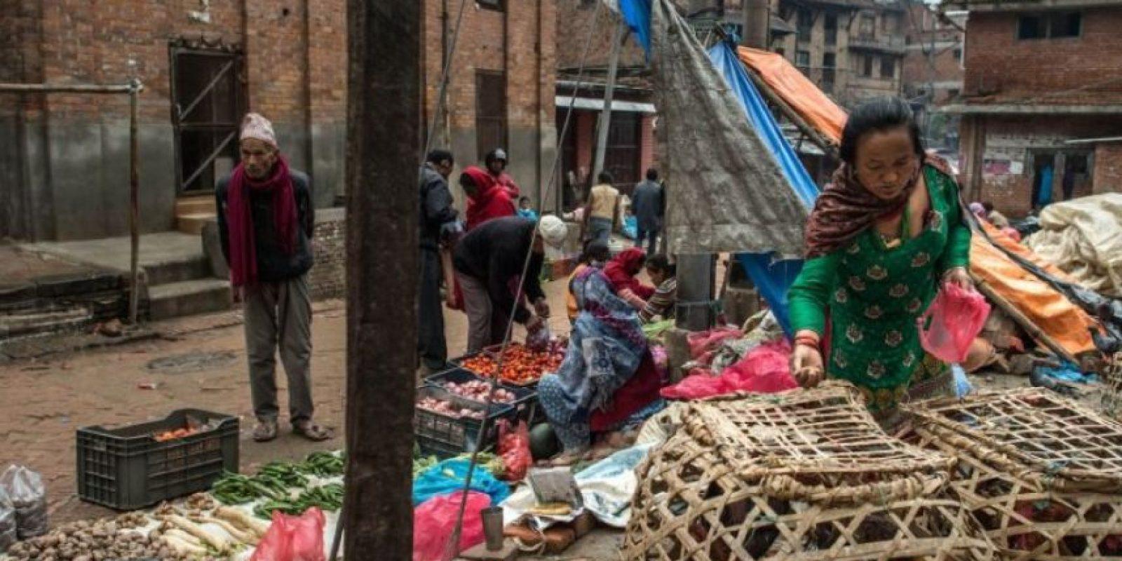7. El Gobierno nepalí ha solicitado donativos. Foto:Getty Images