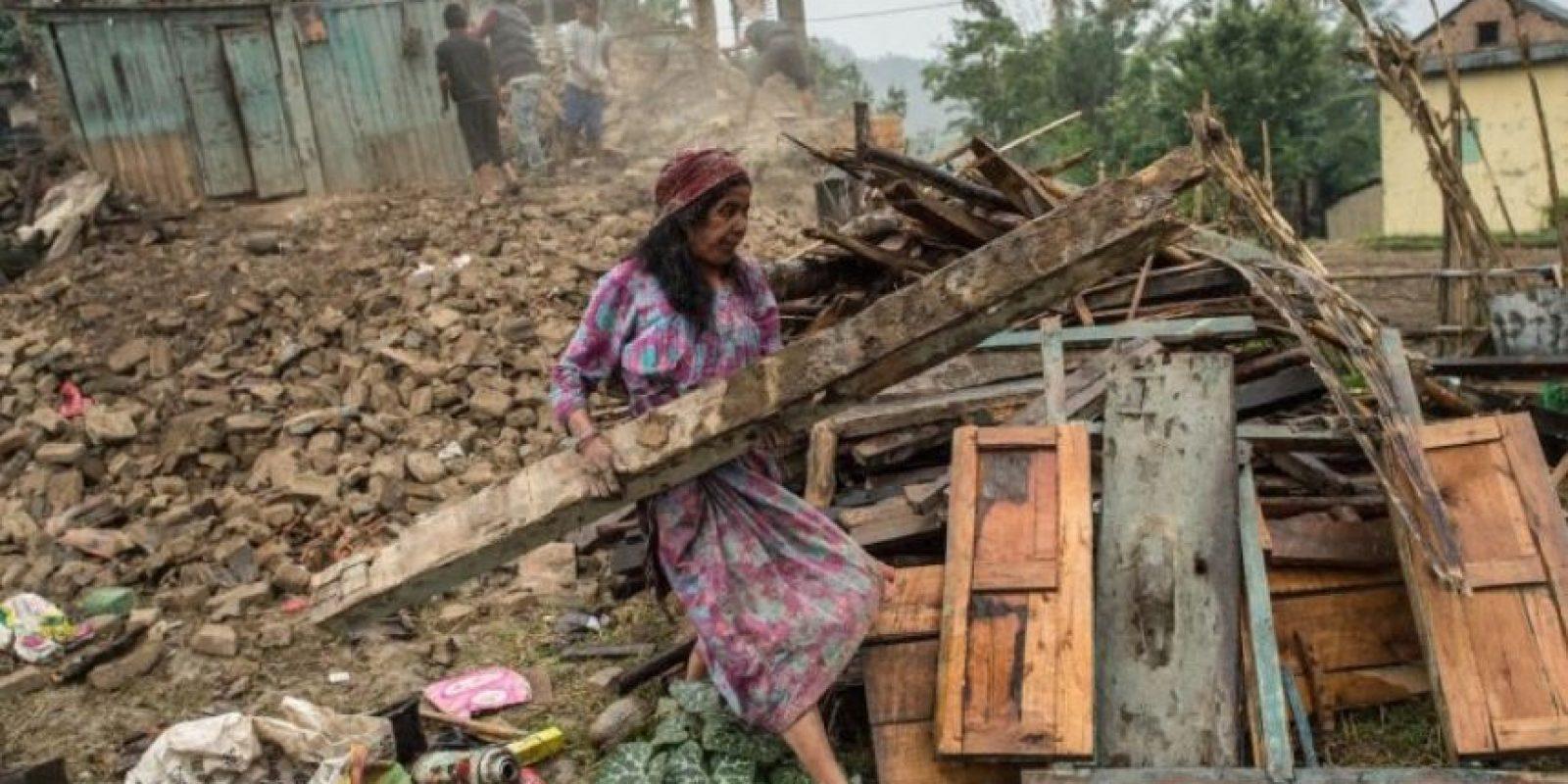 11. Muchos nepalíes residentes de las áreas montañosas aún esperan ayuda. Foto:Getty Images