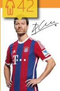 Xabi Alonso, futbolista español del Bayern Munich, en realidad tiene 33 años de edad. Foto:how-old.net