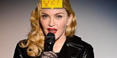 La cantante estadounidense Madonna tiene 54 años. Foto:how-old.net
