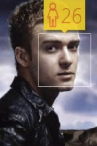 Justin Timberlake, cantante estadounidense, tiene 34 años de edad. Foto:how-old.net