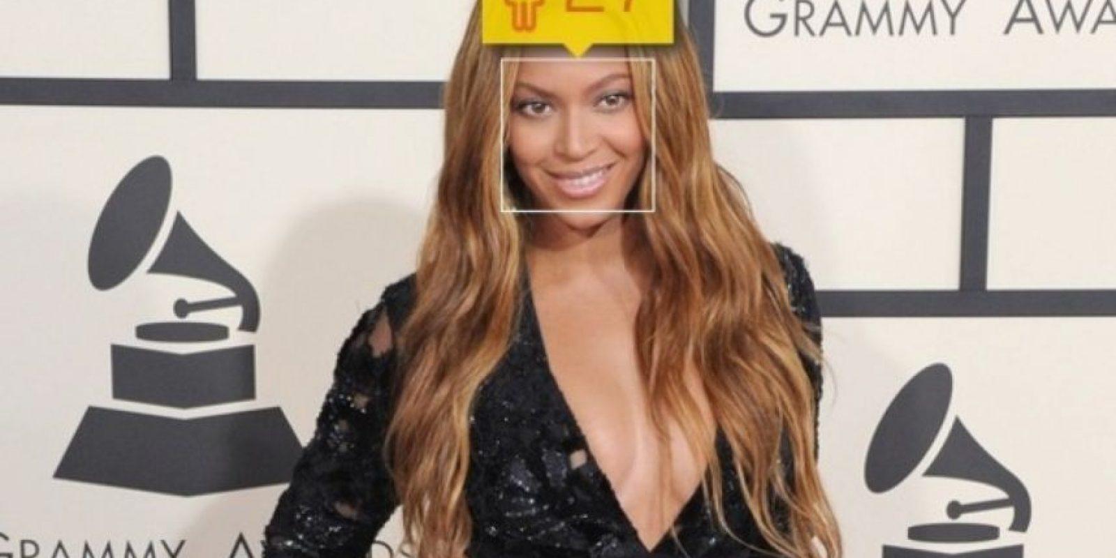 Beyoncé, cantante estadounidense, tiene 33 años de edad. Foto:how-old.net