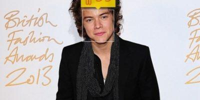 El cantante británico Harry Styles, de One Direction, en realidad tiene 21 años. Foto:how-old.net