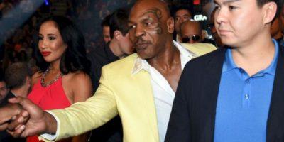 el exboxeador Mike Tyson Foto:Getty Images