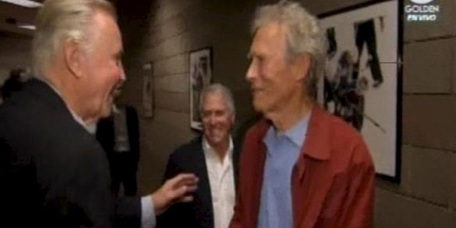 El director y actor Clint Eastwood junto a John Voight Foto:Getty Images