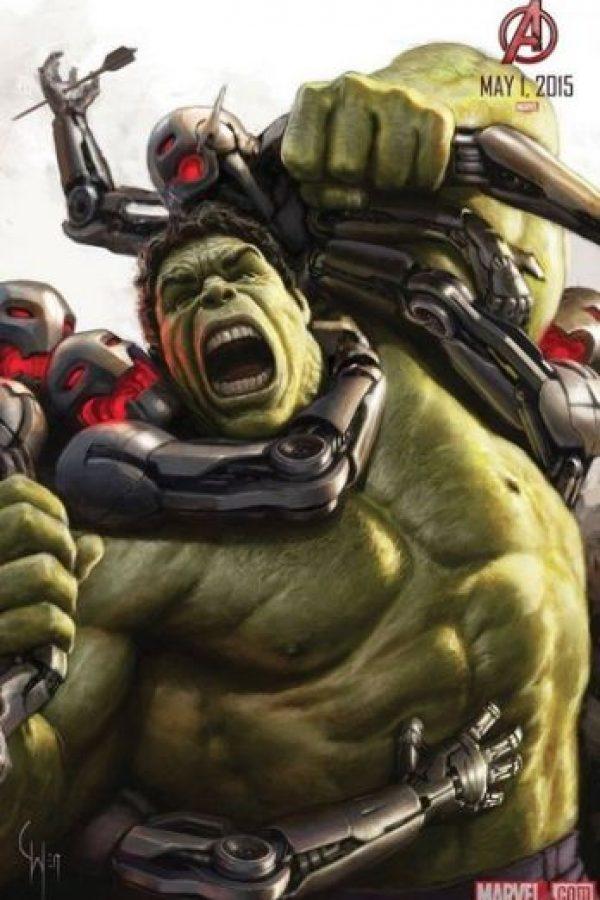 """Especialmente el caso de """"Hulk"""" Foto:Facebook/Avengers"""