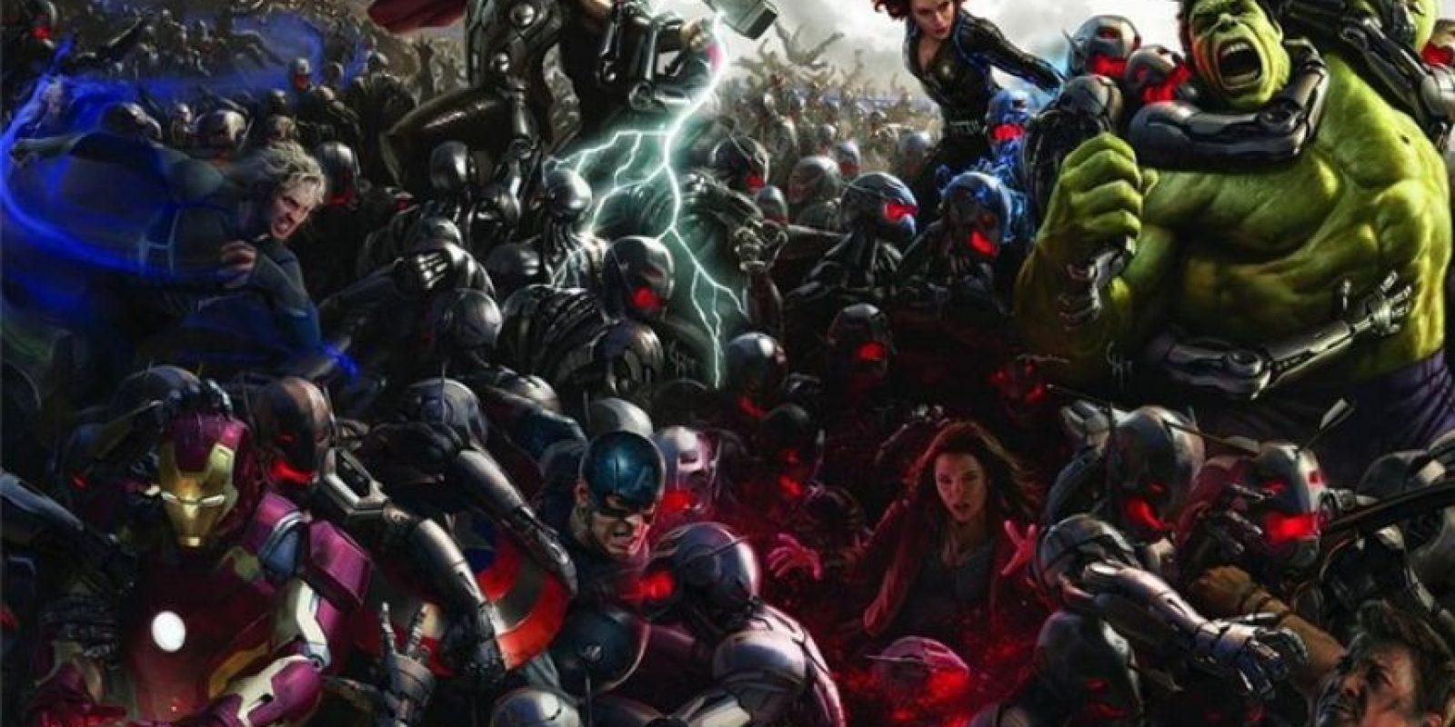"""Industrial Light and Magic fue la encargada de que """"Hulk"""" luciera lo más real posible Foto:Facebook/Avengers"""