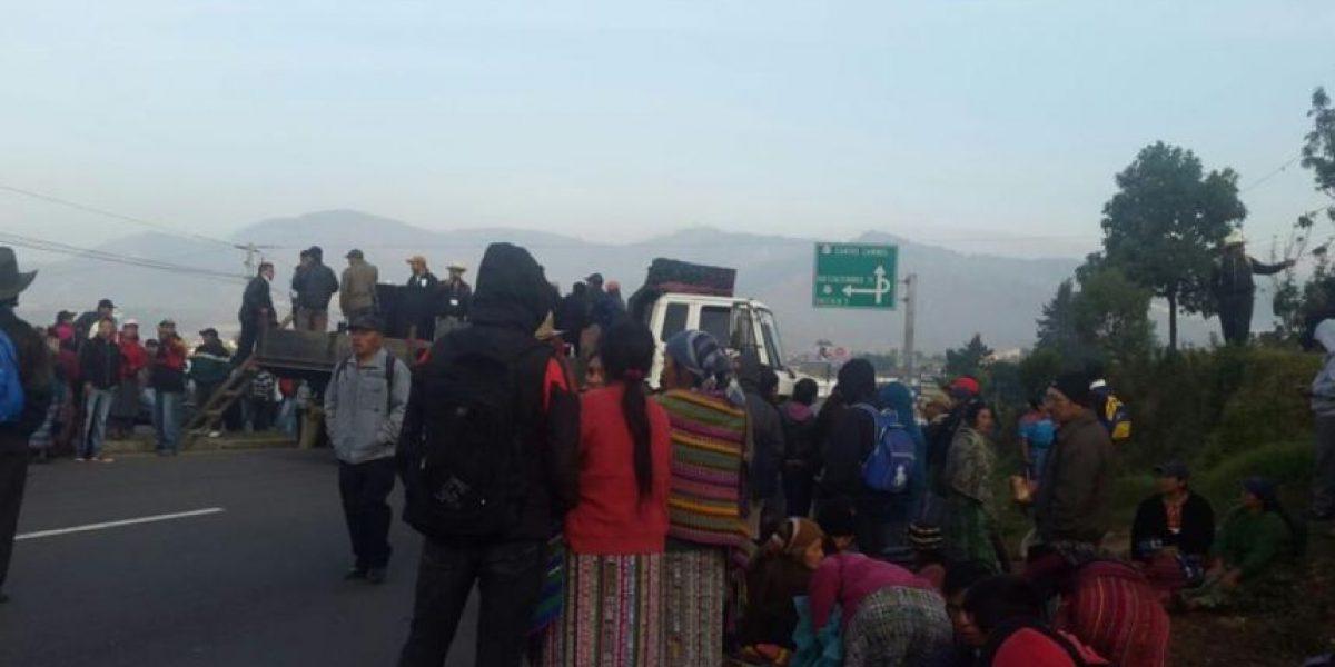 Pobladores de Totonicapan piden renuncia de binomio presidencial