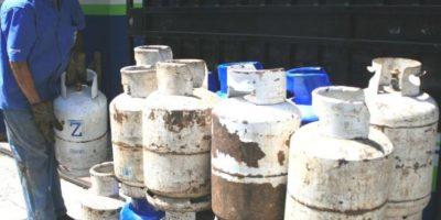 Precio del gas propano vuelve a bajar