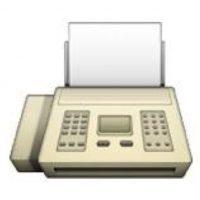 La máquina de fax fue muy popular en la década de los años 80 y 90 para enviar una página, misma que se escaneaba, a través de la línea telefónica convencional. A partir del Internet, su uso disminuyó gradualmente. Foto:emojipedia.org