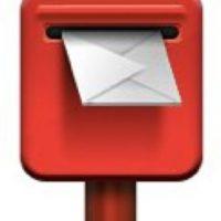 Aunque en la actualidad prácticamente no se utiliza, el buzón de correos servía para dejar la correspondencia y que esta llegara a su destino. Foto:emojipedia.org