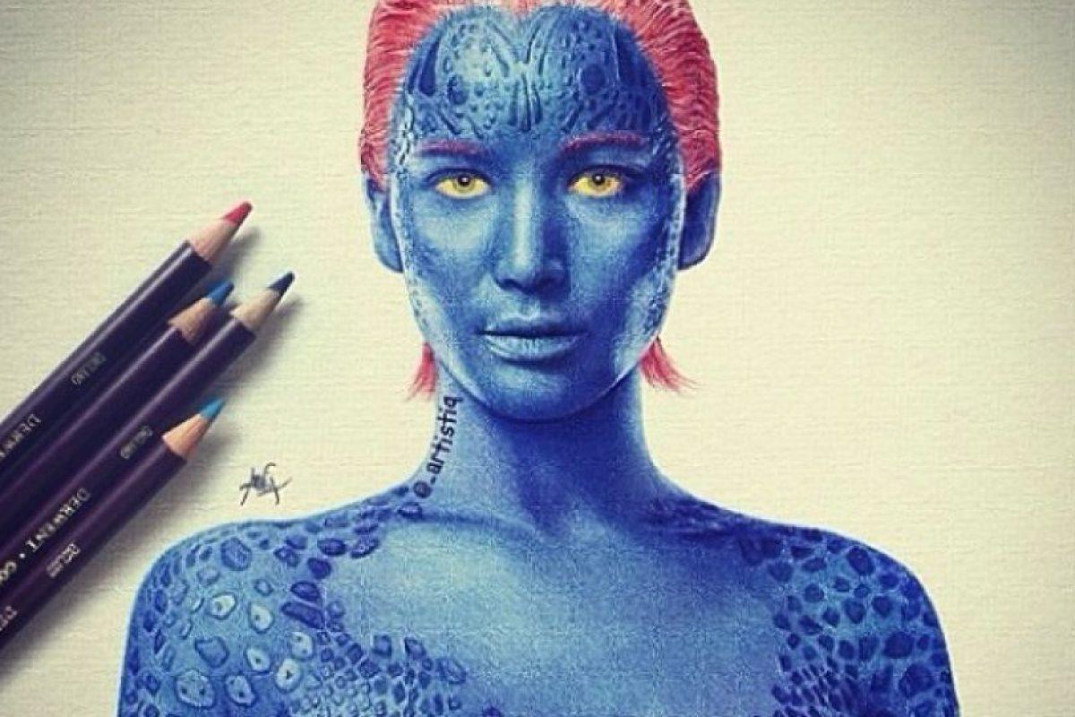 """""""Mystique"""" Foto:vía instagram.com/xmenmovies"""