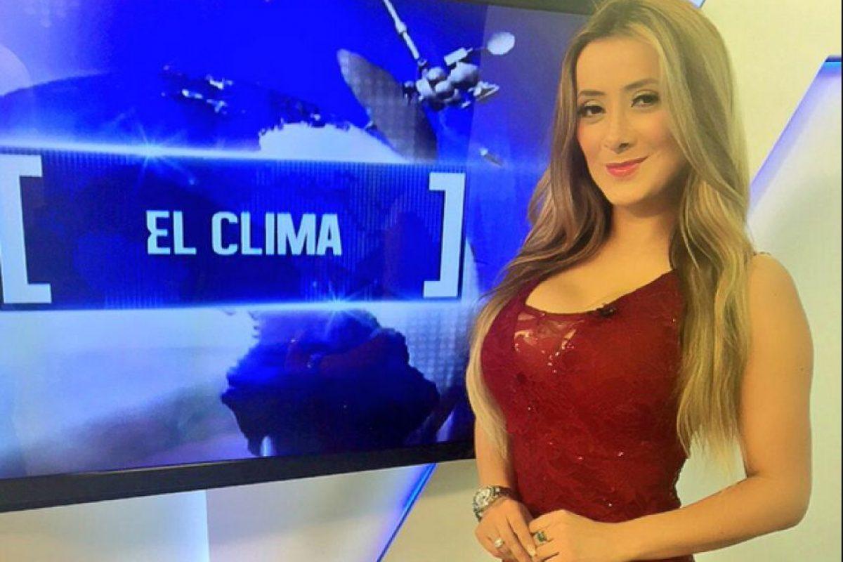 celular robado a presentadora de canal antigua