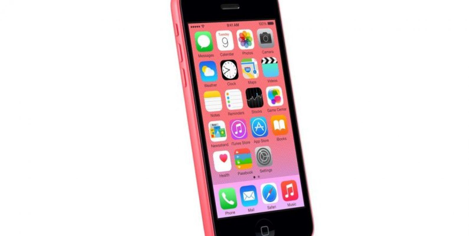 Así se ve el iPhone 6C según la imagen de Apple. Foto:Apple
