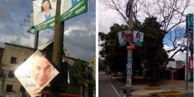 Comuna capitalina les pide a los políticos respetar espacios públicos