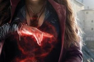 """Scarlet Witch"" es la hermana de ""Quicksilver"" Foto: Facebook/Avengers"