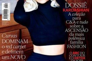 La socialité se convirtió nuevamente en la estrella de la edición especial de la revista brasileña. Foto:Instagram/VogueBrasil