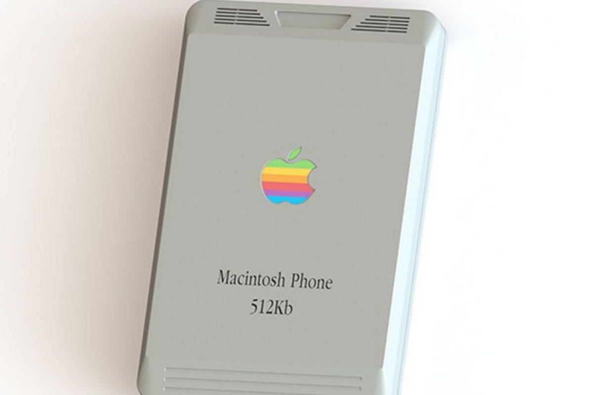 Su nombre sería Macintosh Phone 512K. Foto:vía pierrecerveau.com