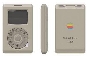 El iPhone habría sido muy diferente en la década de los años ochenta. Foto:vía pierrecerveau.com