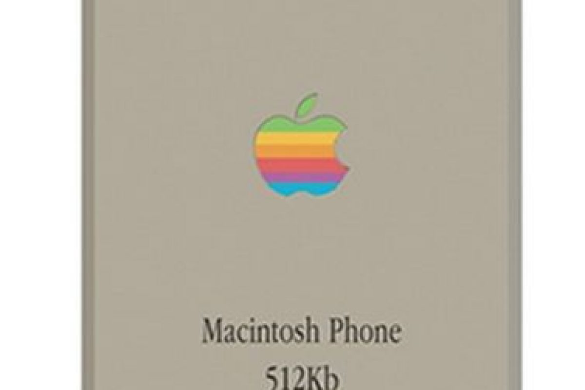 El logo de Apple a colores. Foto:vía pierrecerveau.com