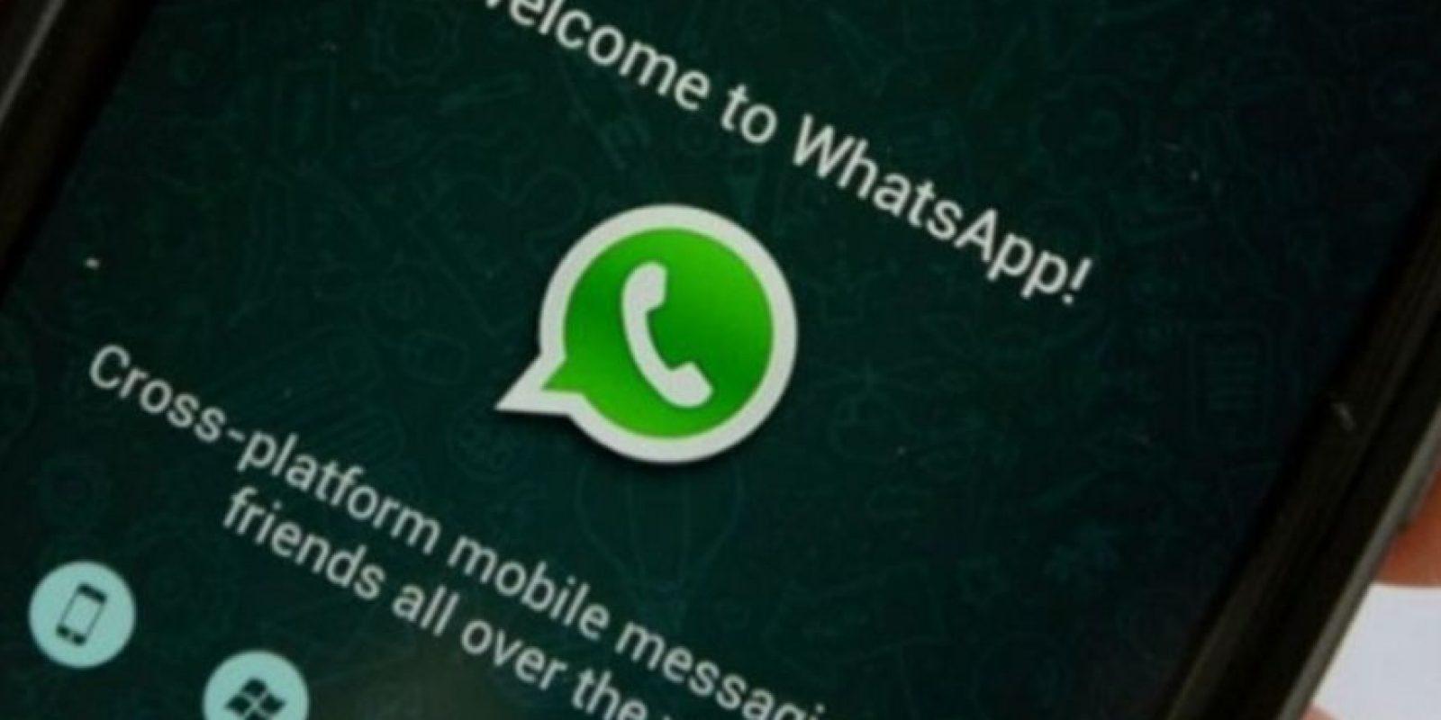 1) Un usuario pasa en promedio 195 minutos a la semana en WhatsApp. Foto:Pinterest