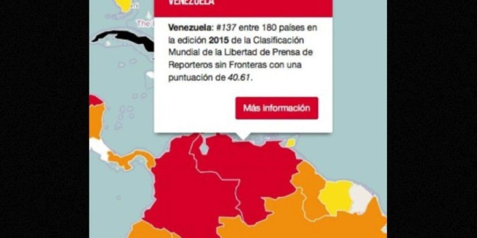 Foto:Reporteros Sin Fronteras