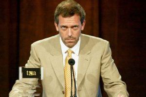 """El protagonista de """"Dr. House"""" fue dueño de una abundante cabellera Foto:Getty Images"""