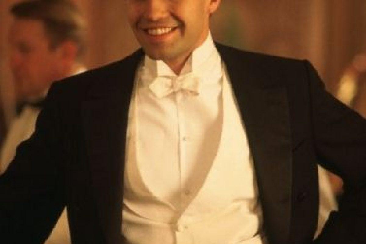 """Tal vez no era tan larga y radiante como la de Leonardo DiCaprio, pero el actor de """"Titanic"""" tenía melena para presumir Foto:IMDB"""