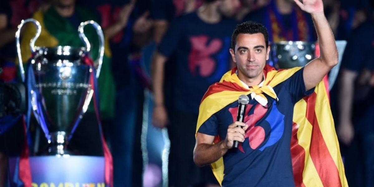 Xavi explica por qué abofeteó a Neymar