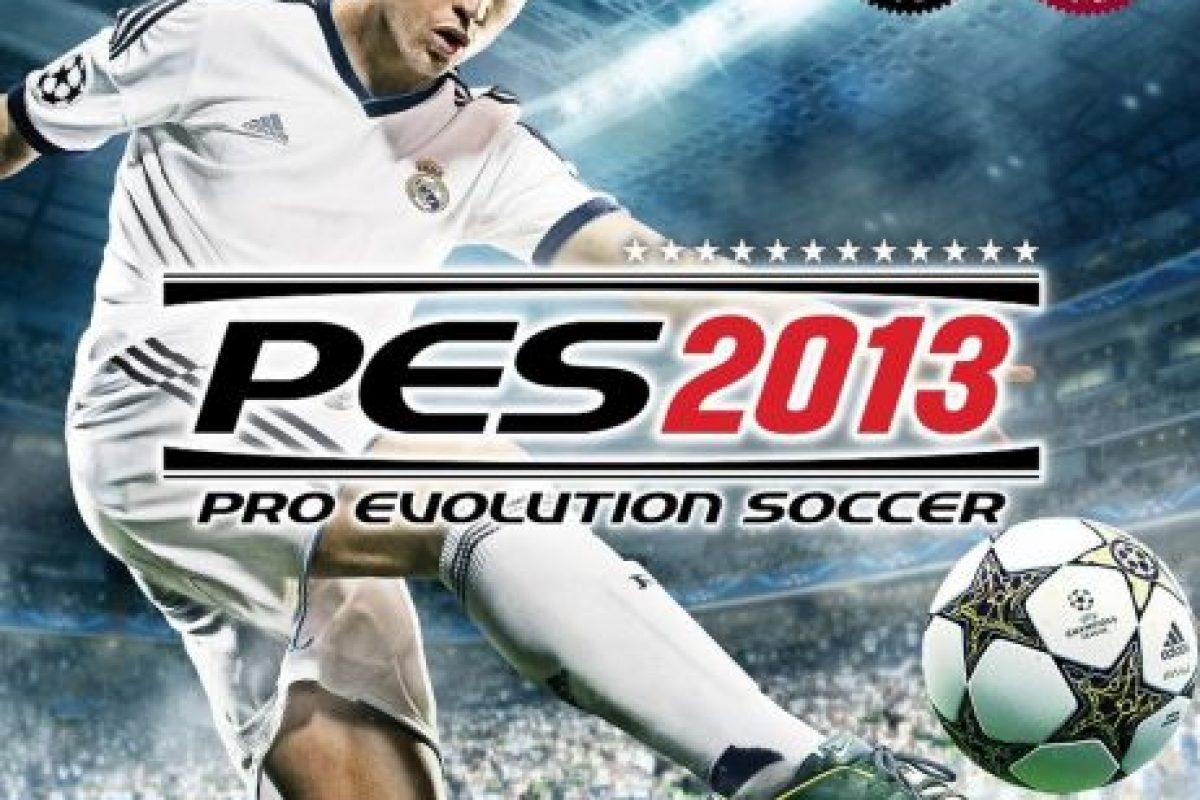 """PES 2013"" con el portugués Cristiano Ronaldo. Foto:Konami"