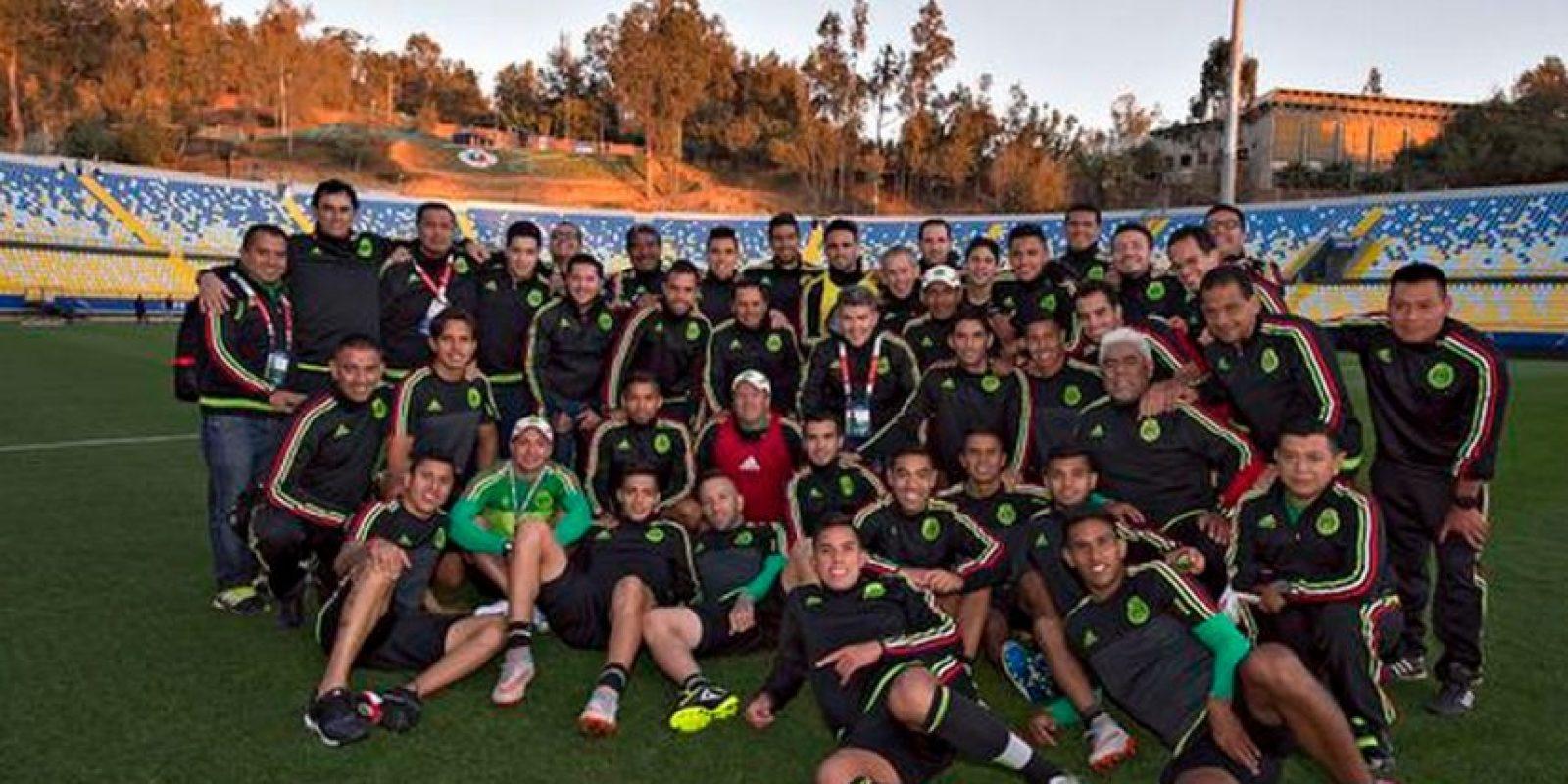 México no falta a una copa desde 1993 Foto:Via twitter.com/miseleccionmx