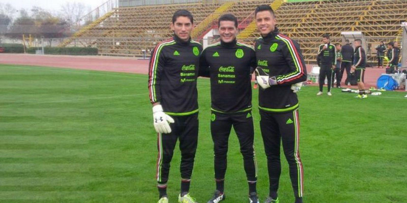 Jose Corona será el portero titular de México Foto:Via twitter.com/miseleccionmx
