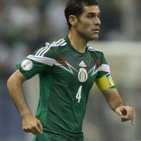 """El """"Tri"""" tiene en Rafa Márquez a su líder Foto:Getty Images"""