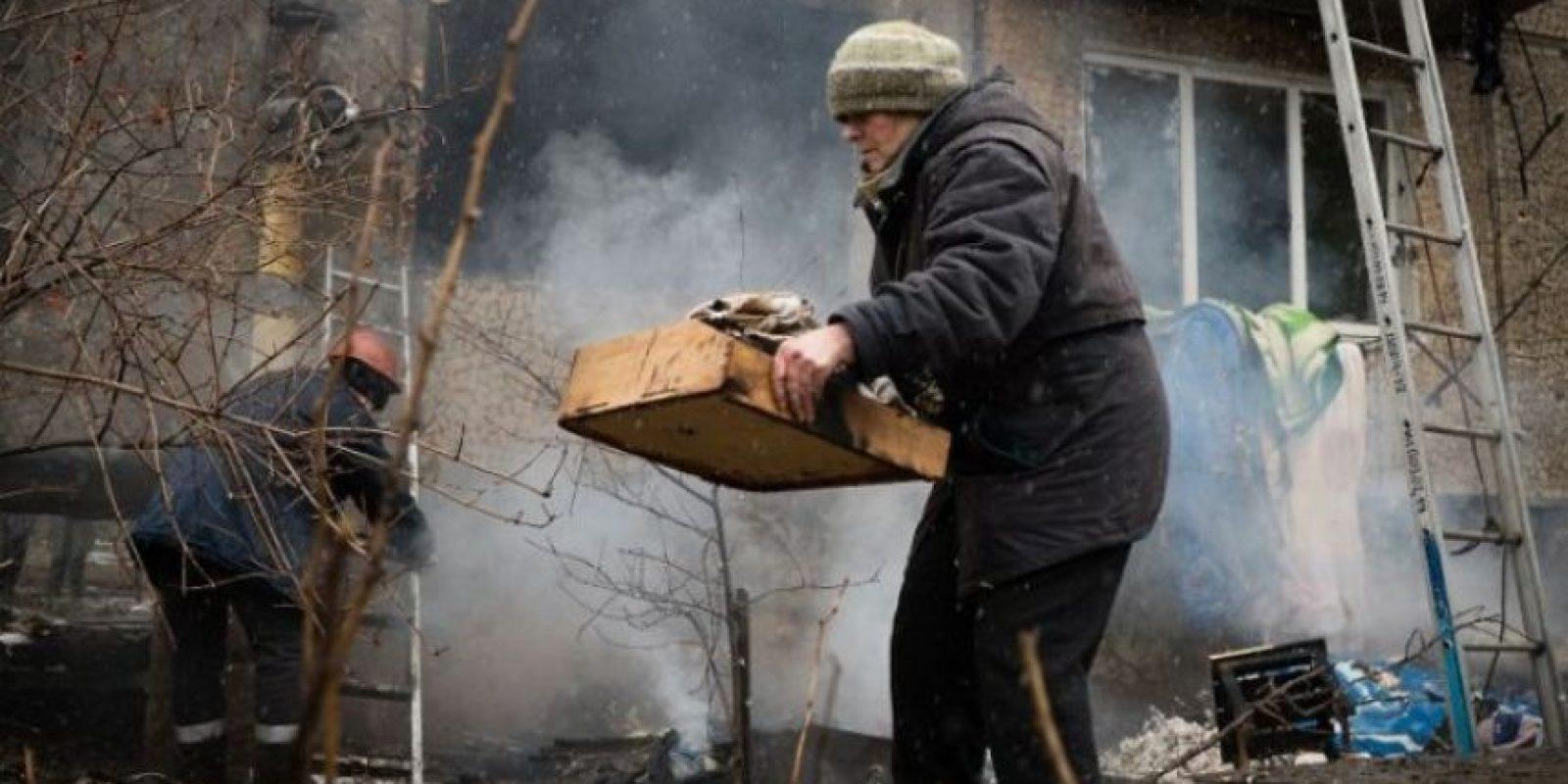 """Rusia había procurado mantener a Ucrania como un aliado, para salvaguardar su frontera. Cuando el año pasado se empieza a negociar que la Ucrania se adhiera a Unión Europea se creó una gran división en el país"""", narra el investigador mexicano. Foto:AFP"""