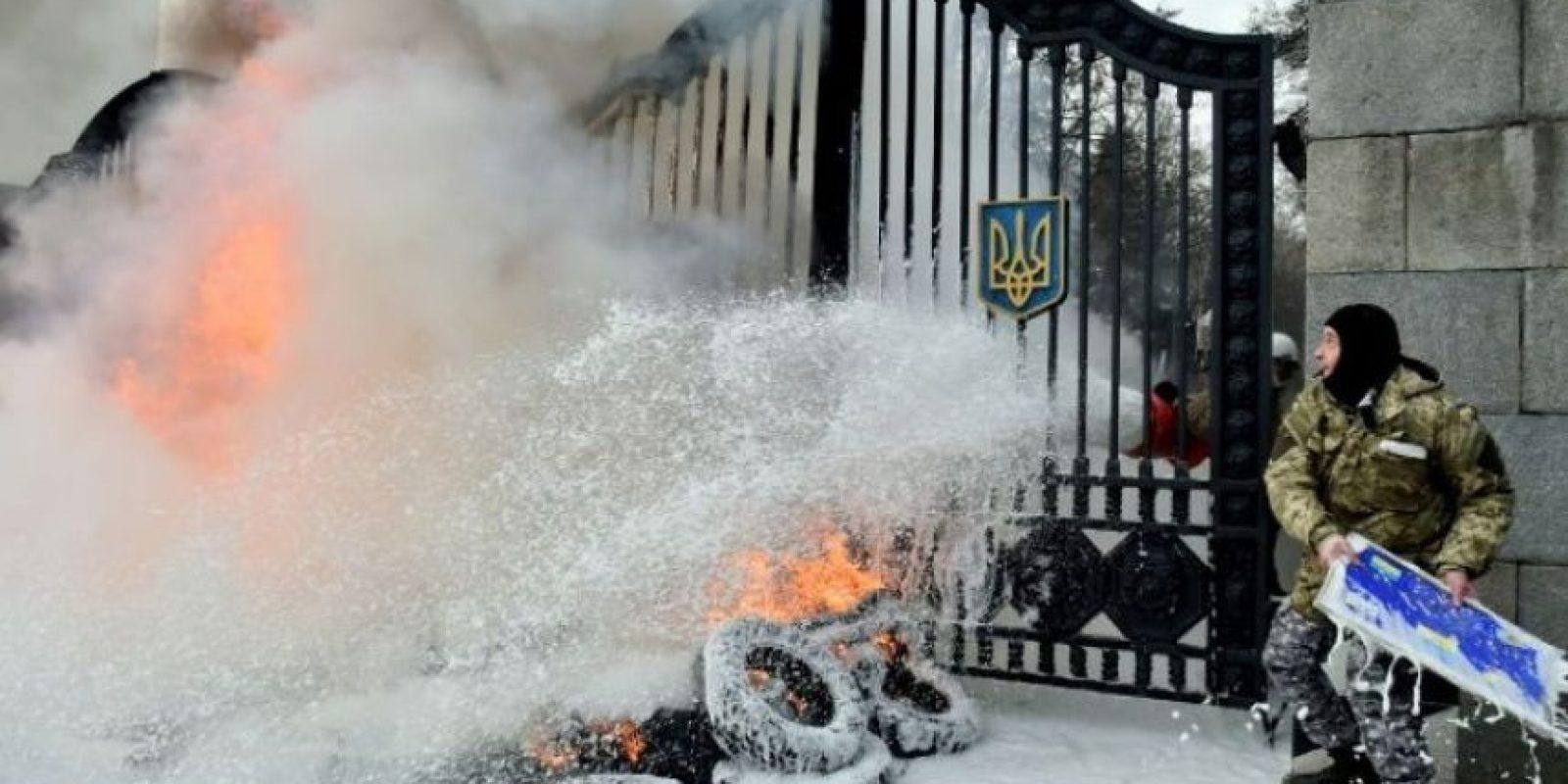 """""""Los rusos no están dispuestos a permitir que Ucrania se convierta en un terreno donde lleguen los intereses de Occidente"""", comentó el catedrático mexicano. Foto:AFP"""