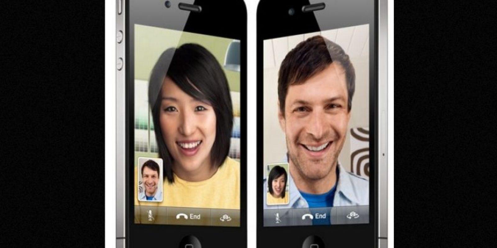 """La función """"FaceTime"""" ya es común en los iPhones. También existe Skype. Foto:vía Apple"""